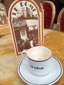 Coffee in Paris at a Montparnasse Cafe