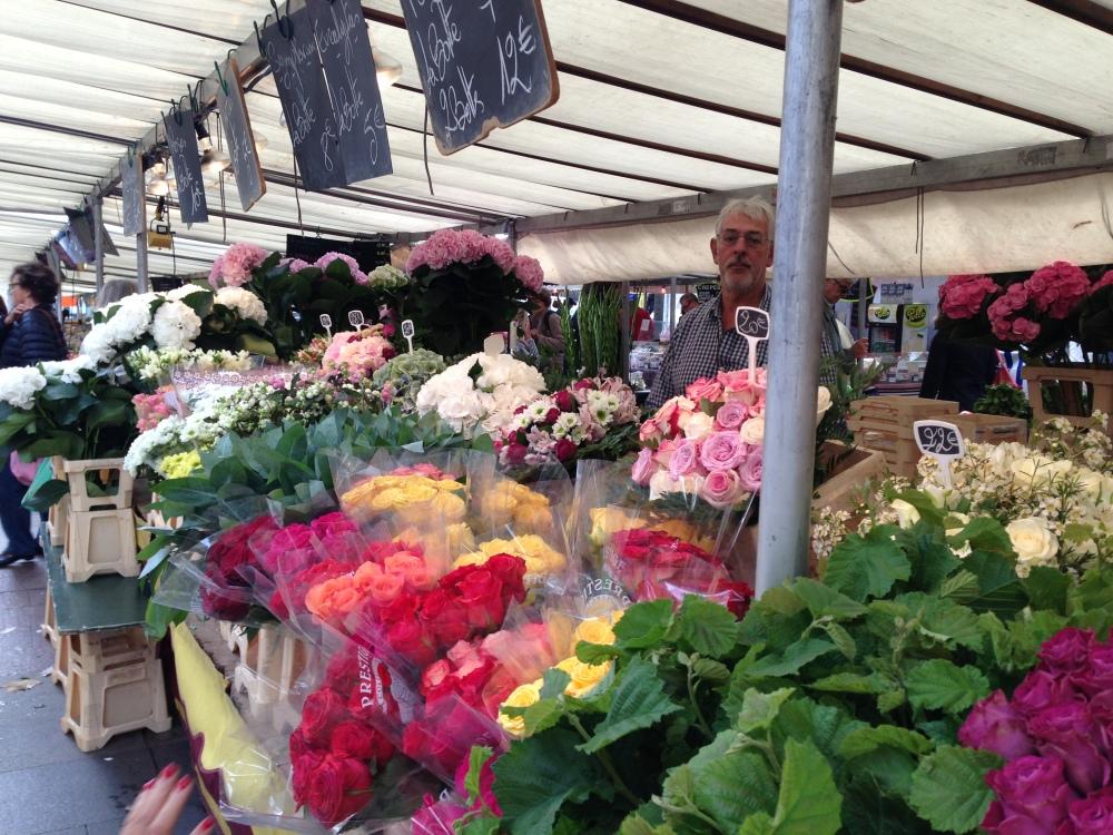Flower Shopping in Paris